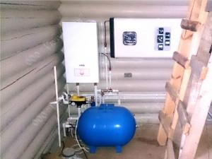 Электрический котёл и водонагреватель