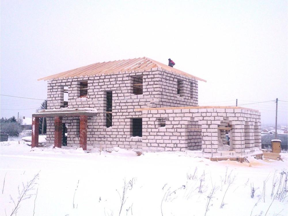 Дом из газобетона 11