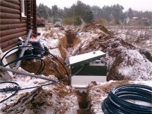 Монтаж автономной канализации ТОПАС